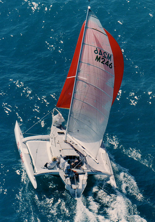 Avalon 8.2 trimaran